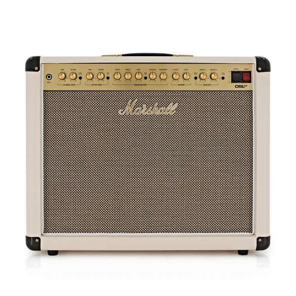 Marshall DSL40CRD Special 1x12 Valve Combo, Cream