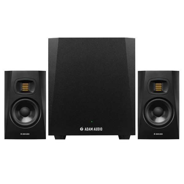 Adam Audio T5V Studio Monitors with T10S Subwoofer - Full Bundle