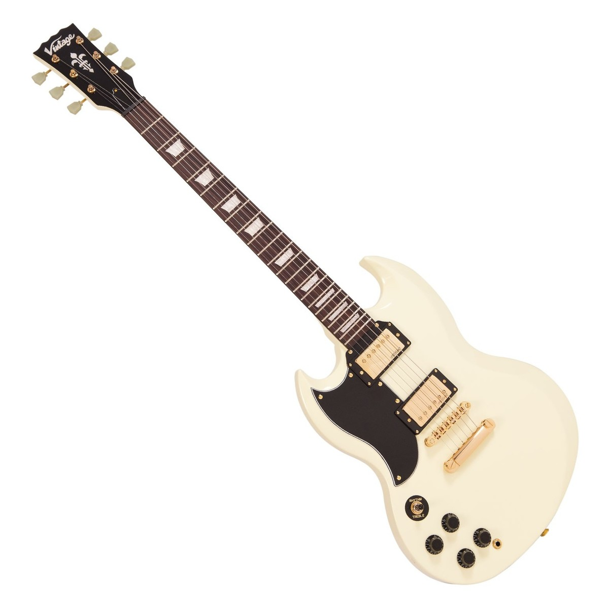 Click to view product details and reviews for Vintage Vs6 Reissued Left Handed Vintage White W Gold Hardware.