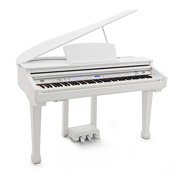 GDP-100 Digital Grand Piano by Gear4music, Gloss White