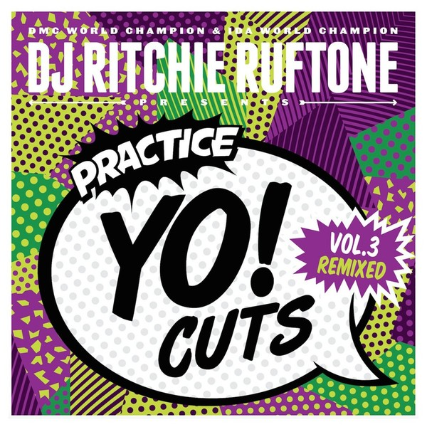 TTW Records Practice YO! Cuts 7inch Vol.3 - Front
