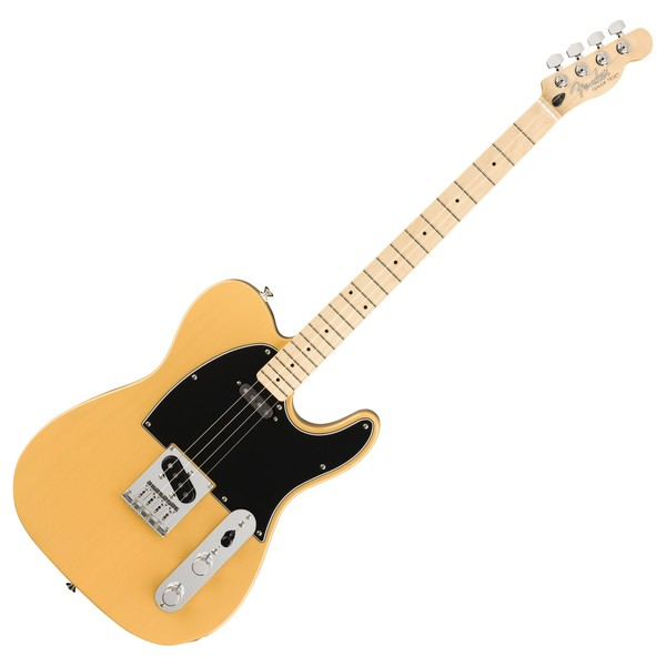 Fender Tenor Telecaster Electric Ukulele MN, Butterscotch Blonde