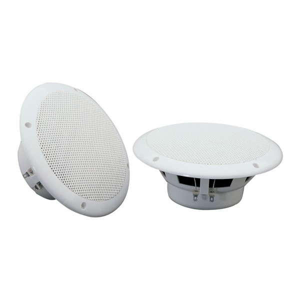 Adastra OD6-W8 6.5'' Water-Resistant Speakers, 8 Ohm, White, Pair