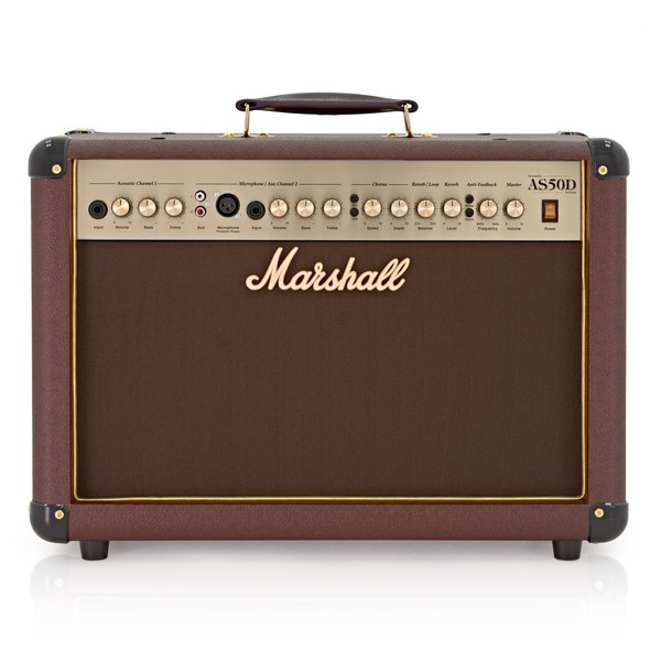 Marshall AS50D Acoustic Combo Amp with Digital Chorus & Reverb