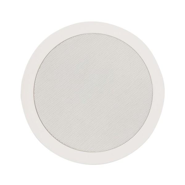 Adastra CC6V 6.5'' 100V Ceiling Speaker with Control, Front