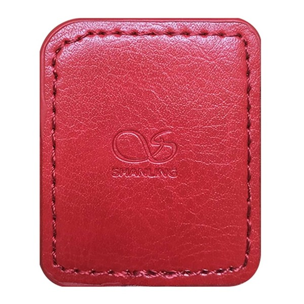 Shanling M0 Leather Case, Red - Front