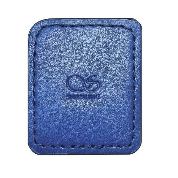Shanling M0 Leather Case, Blue - Top
