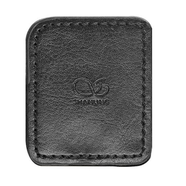 Shanling M0 Leather Case, Black - Front