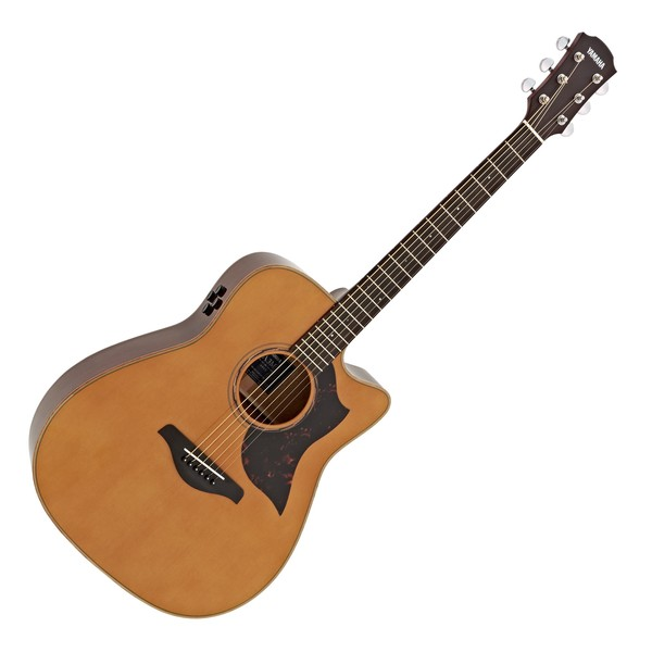 Yamaha A3M Mahogany Electro Acoustic Guitar, Vintage Natural