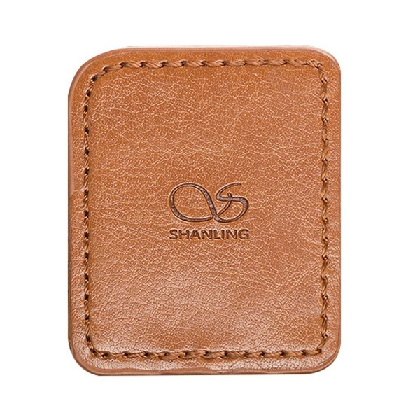 Shanling M0 Leather Case, Brown - Front