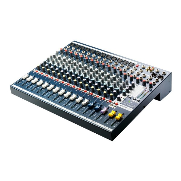 Soundcraft EFX12 Mixer with Lexicon FX, Front Angled