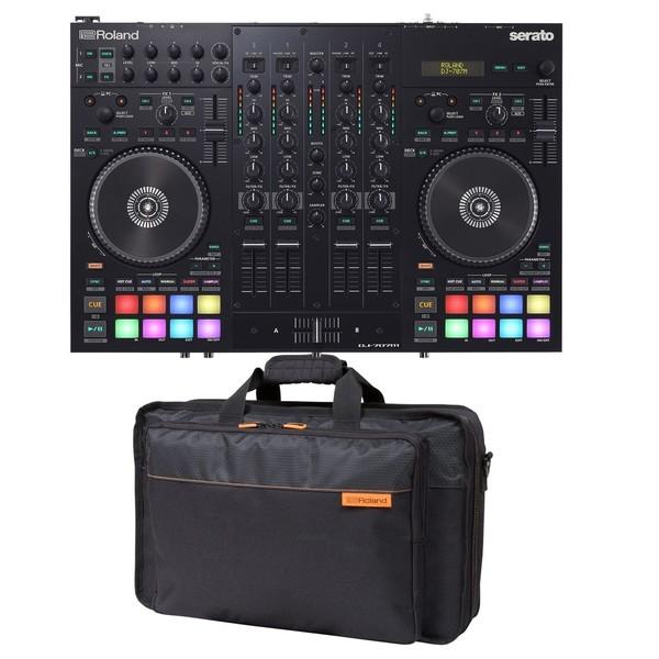 Roland DJ-707M Mobile DJ Controller with Bag - Full Bundle