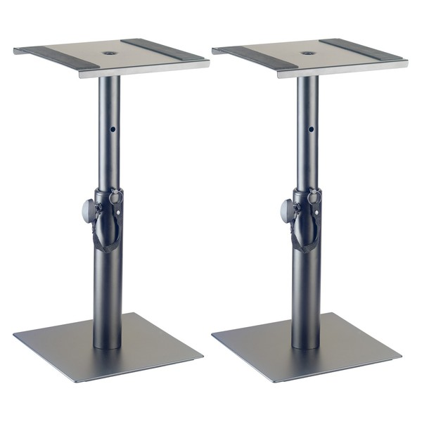 Stagg Desktop Studio Monitor Stands, Pair - Angled