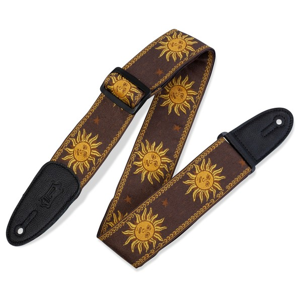 Levy's Jacquard Sun Polyester Strap, Brown