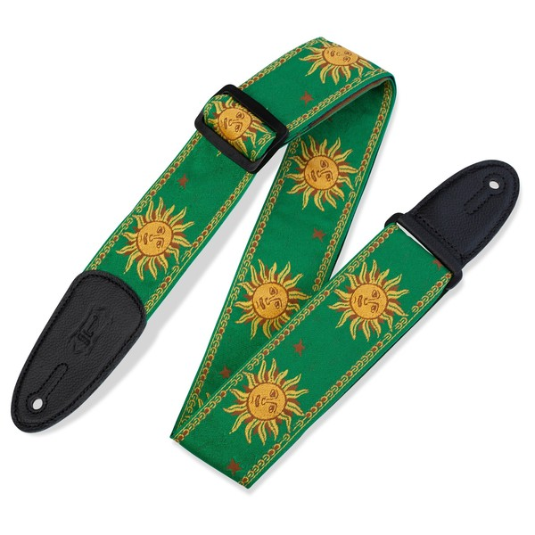 Levy's Jacquard Sun Polyester Strap, Green