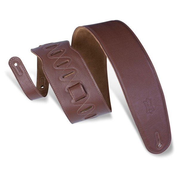 Levys M4GF Garment Leather Strap With Thong, Brown