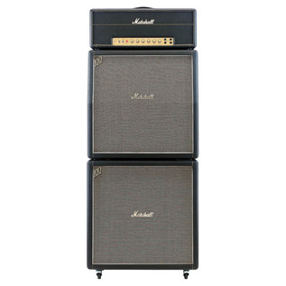 Marshall 1959HW Handwired Guitar Tube Amplifier Head - full stack front