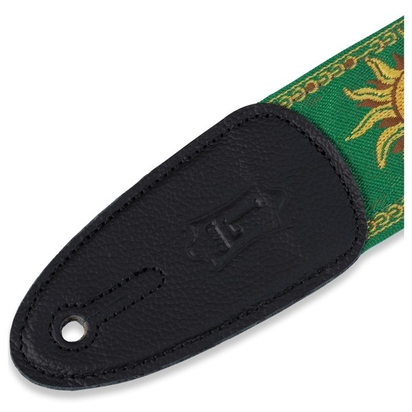 Levy's Jacquard Sun Polyester Strap, Green Ends
