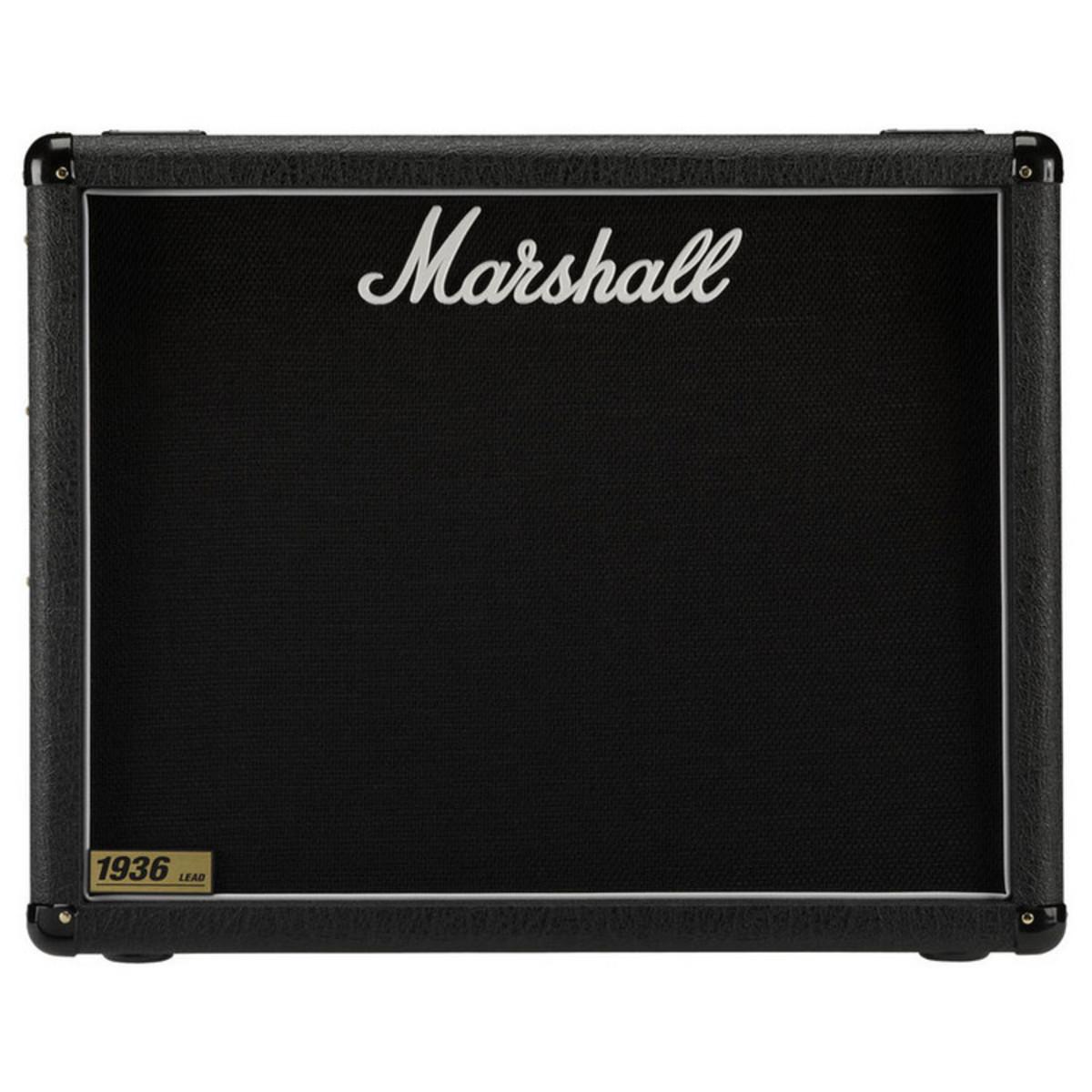 marshall 1936 2x12 guitar speaker cab at gear4music. Black Bedroom Furniture Sets. Home Design Ideas