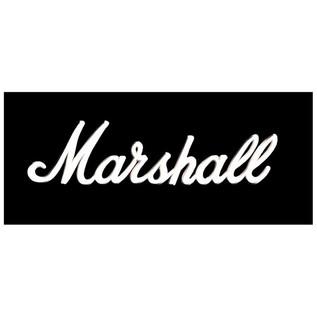 "Marshall 1936 2x12"" Guitar Speaker Cab - logo"