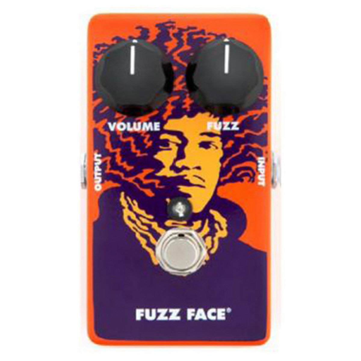 Disc Ltd Ed Jimi Hendrix 70th Anniversary Fuzz Face By Jim Dunlop Jimmy Guitar Effect Schematic Diagram Limited Edition Loading Zoom