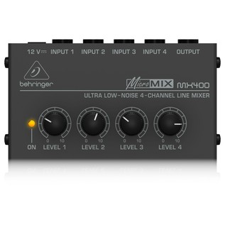 Behringer MX400 4-Channel Mixer