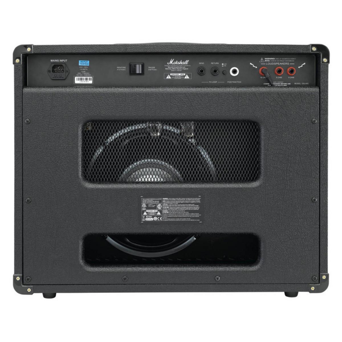 marshall dsl40c dsl series 40w guitar combo amp at gear4music. Black Bedroom Furniture Sets. Home Design Ideas