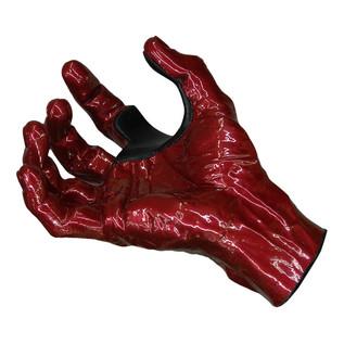 Grip Studios GS-1 Custom Guitar Hanger, Red Rum, Right Hand Palm Detail