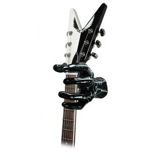 Grip Studios Air Brushed Custom Guitar Hanger, Spidey, Left Hand with Guitar