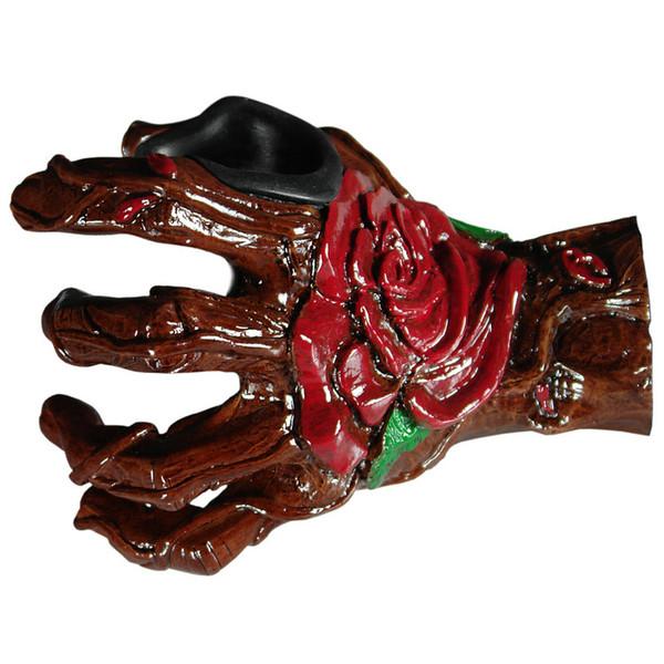 Grip Studios Hand Carved Guitar Hanger, Bella Rose, Left Hand