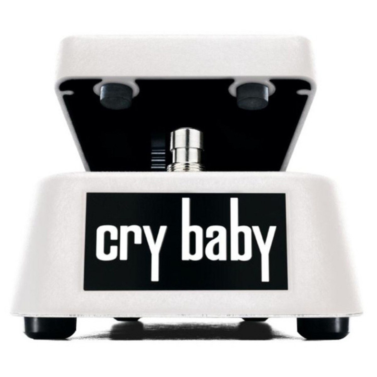 Limited Edition Jim Dunlop Crybaby Wah White Sparkle At