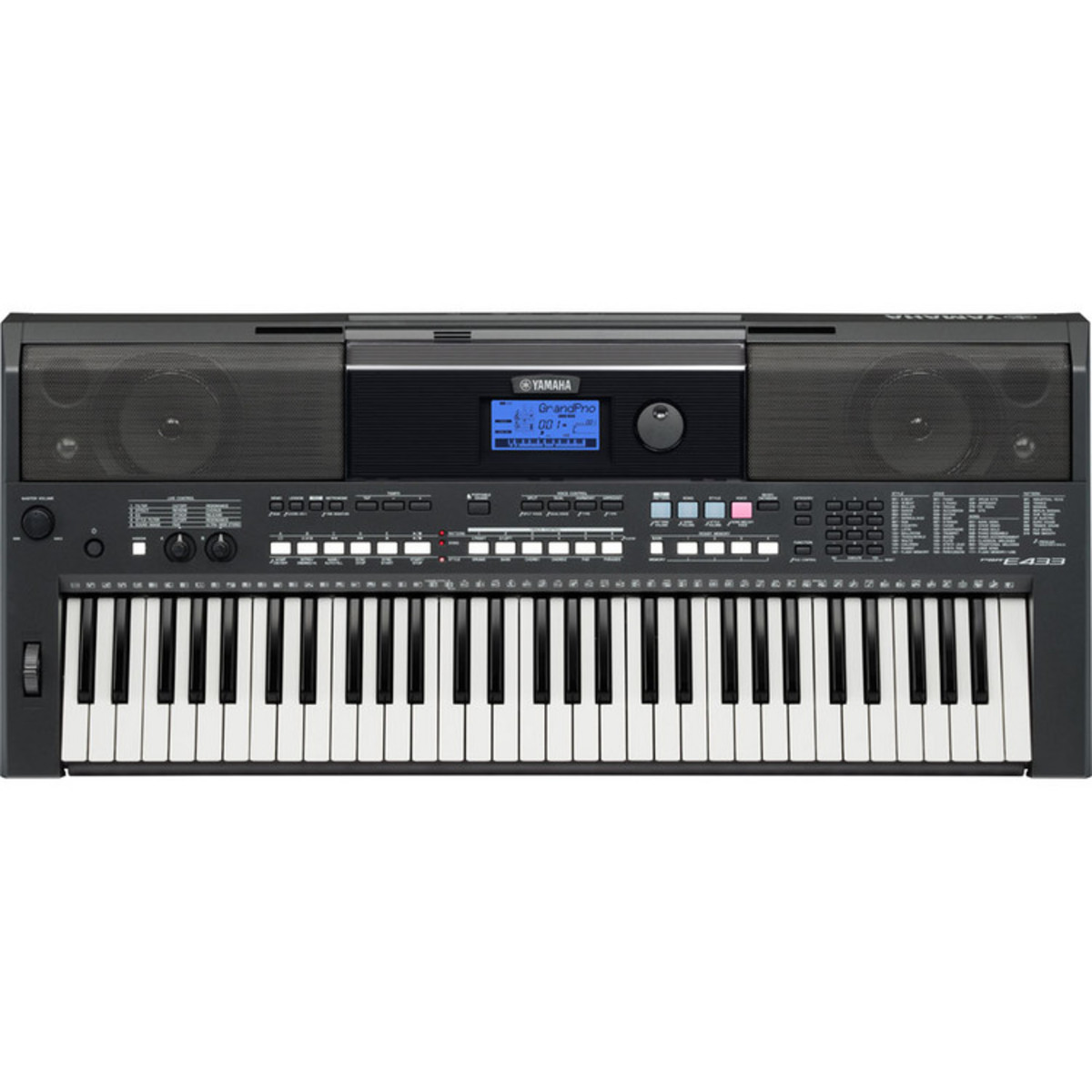 yamaha psr e433 portable keyboard ex demo at gear4music. Black Bedroom Furniture Sets. Home Design Ideas