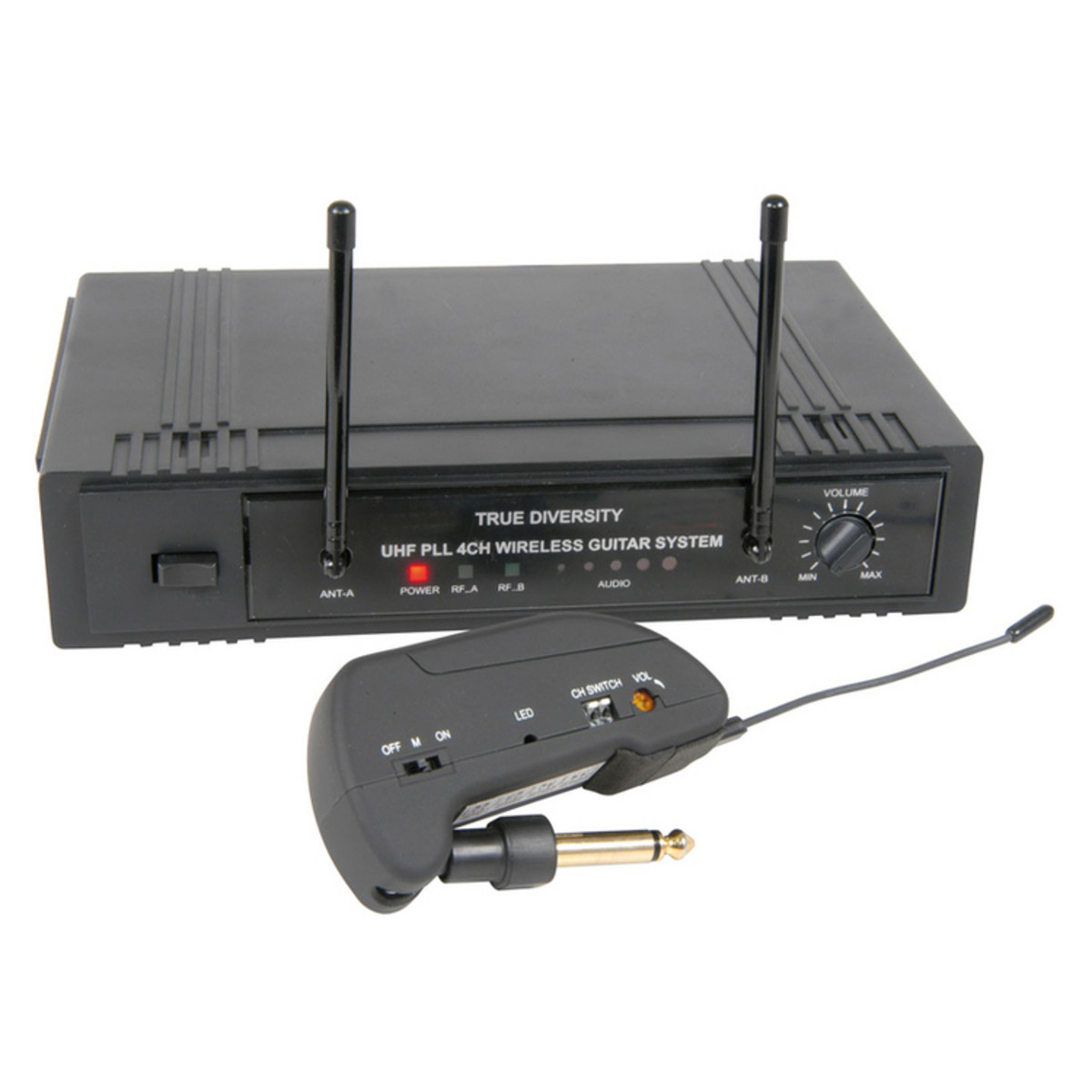 qtx 4 channel true diversity uhf wireless guitar system nearly new at gear4music. Black Bedroom Furniture Sets. Home Design Ideas