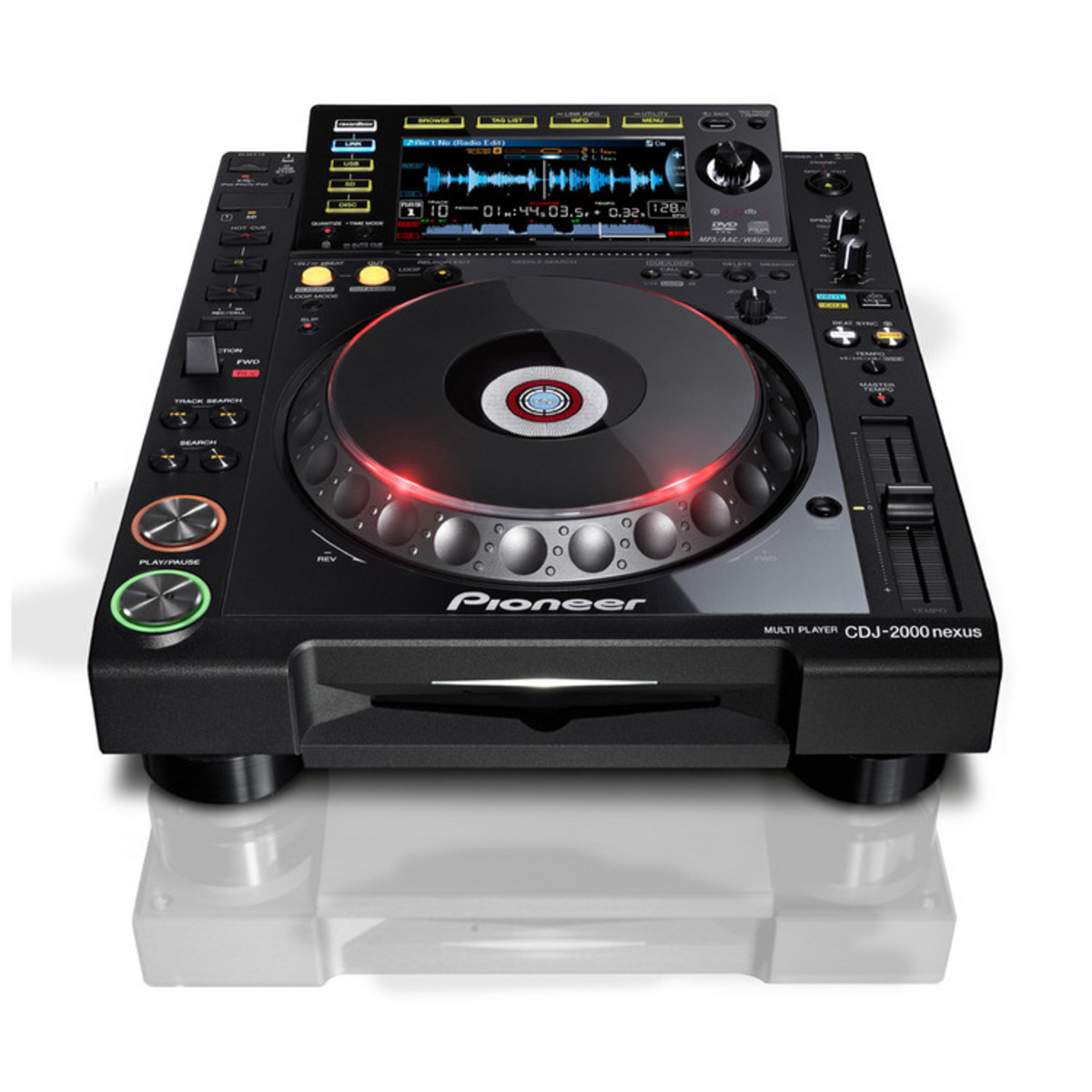 disc pioneer cdj 2000nexus multiplayer digital dj deck at. Black Bedroom Furniture Sets. Home Design Ideas