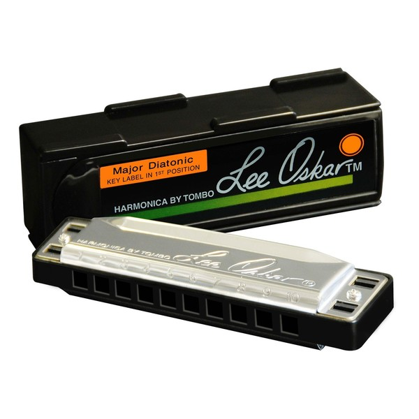 Lee Oskar Major Diatonic Harmonica - Key of High G