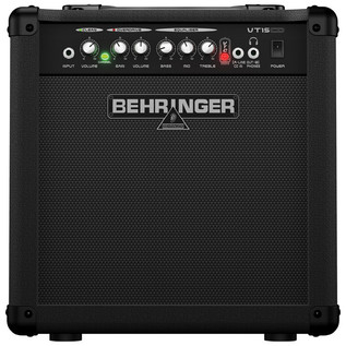 Behringer VT15CD Virtube 15W 2-Channel Guitar Amplifier (Front)