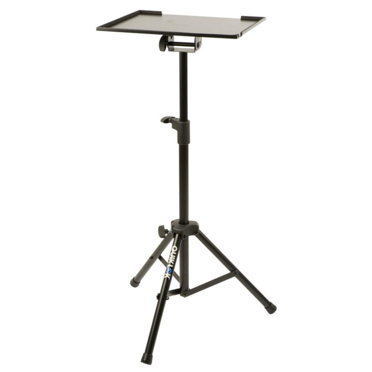 Quiklok Lph001 Large Laptop Accessory Holder Tripod Stand
