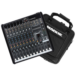 Mackie ProFX12 Channel Mixer with FX with Free Padded Mixer Bag - main