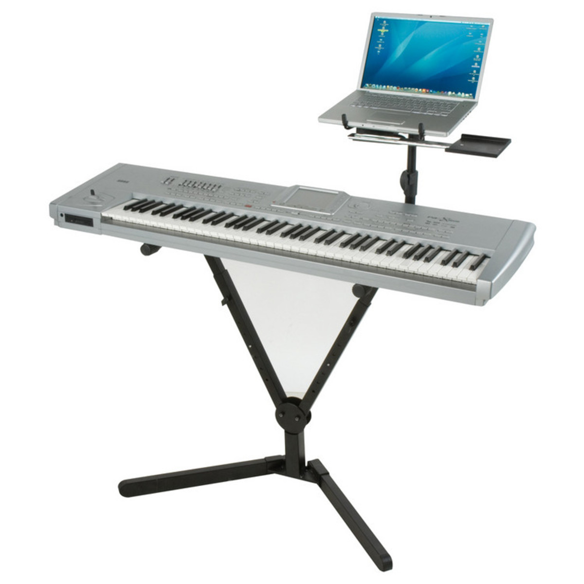 Quiklok Qly40 Y Shaped Single Tier Foldable Keyboard Stand