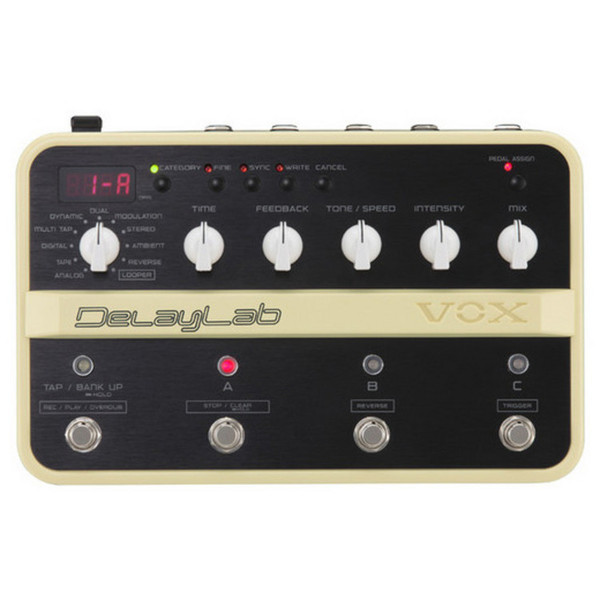 VOX DelayLab Delay Effects Pedal