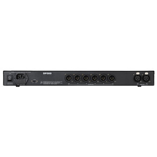 Mackie SP260 2x6 Speaker Processor (Rear)