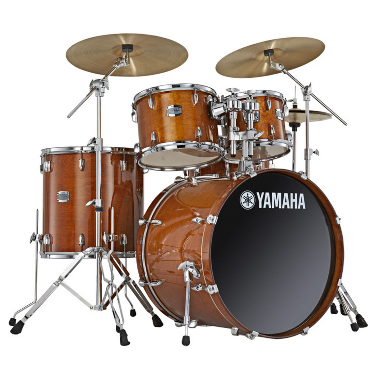 disc yamaha stage custom 22 rock fusion kit honey amber. Black Bedroom Furniture Sets. Home Design Ideas