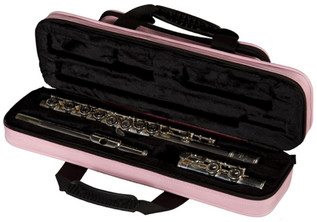 Gator Lightweight Flute Case Pink (Open)