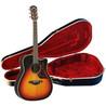 Yamaha A3R Puoliakustinen kitara,    Vintage keltainen Inc kova kotelo