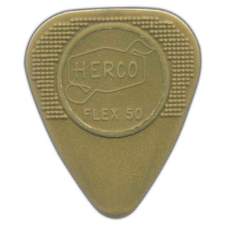 Jim Dunlop Flex50 Medium, Gold, Players Pack of 12