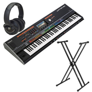 Roland Jupiter 80 Synthesizer with FREE Stand and KRK Headphones