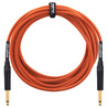 Orange 20 ft Instrument Cable, Woven