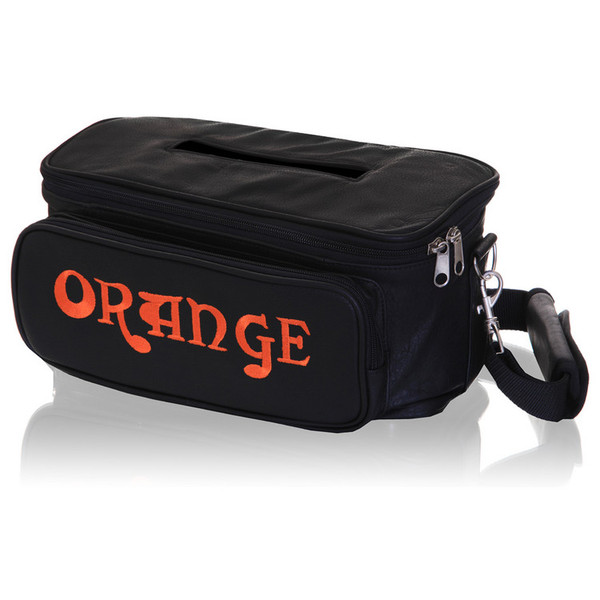 Orange Tiny Terror Leather Gig Bag