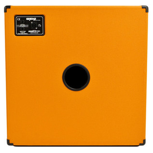Orange OBC 410 Bass Cab (Back)