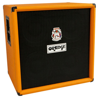 Orange OBC 410 Bass Cab (Front Left)